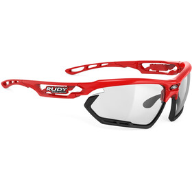 Rudy Project Fotonyk Glasses fire red gloss - impactx photochromic 2 black